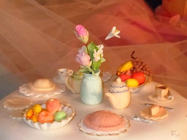全部お菓子です♪ 世界の洋菓子展にて。