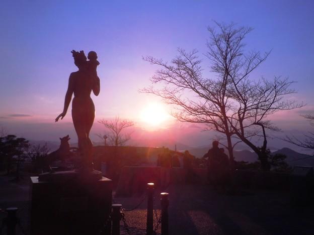瀬戸内の初日の出in千光寺山山頂