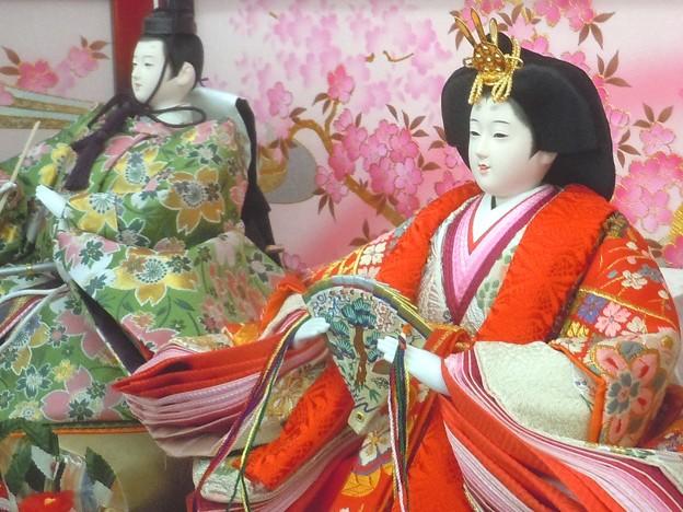 お内裏様とお雛様~桃の節句2013~