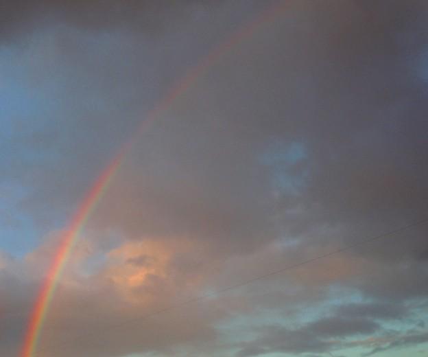 レインボー~ひと雨来そうな茜の空に~2013.11.11