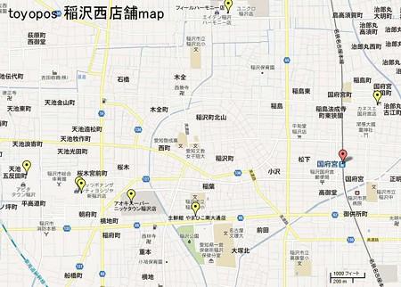 inazawa tenpo map