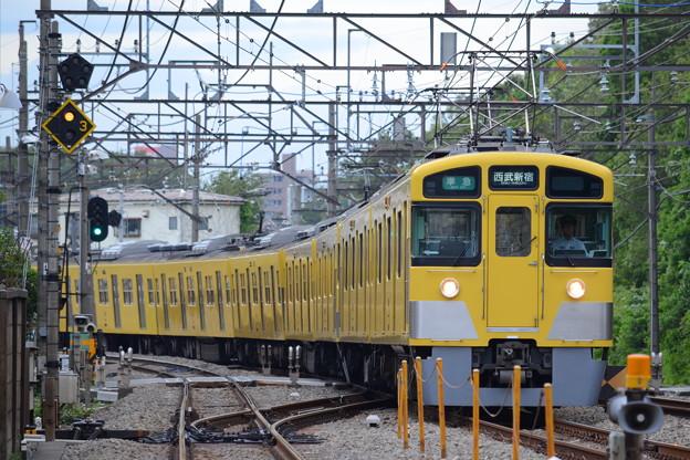 2451F+2003F 準急西武新宿行き