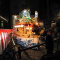 魚の町 川船