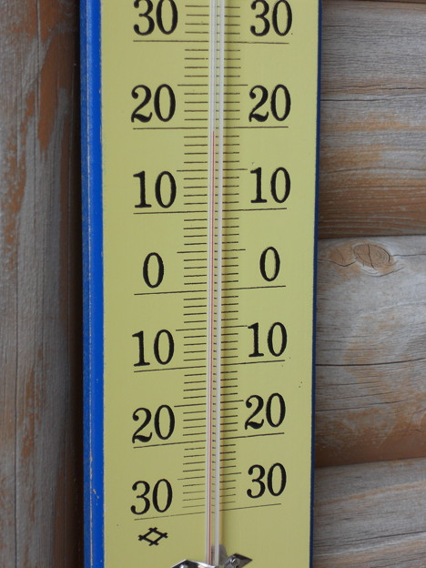 温度計 20度