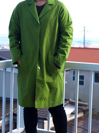 グリーンコート01