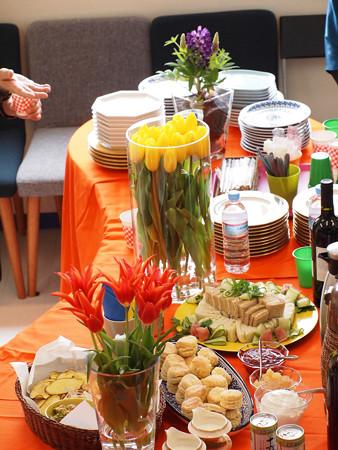 パーティーのテーブル
