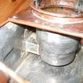 小豆島の燗銅壺 燃焼筒の構造