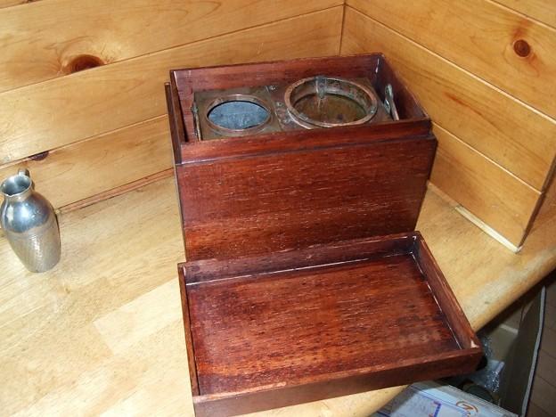 小豆島の燗銅壺 箱の製作