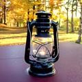 Photos: 風流キャンプ 灯油ランプ