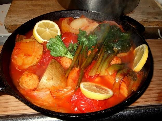 トマトジュース煮込み 完成