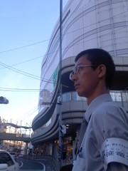 街頭活動中。