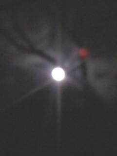 源氏山の月。