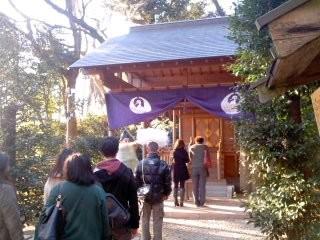 葛原岡神社。