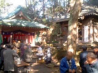 熊野神社 賀詞交歓会。