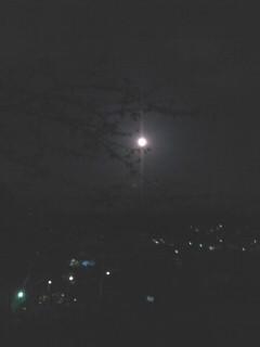 腰越の月。