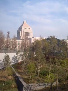 国会議事堂。