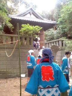 市場八幡神社(7月28日、例大祭)