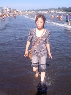 浜辺を散歩(8月28日)
