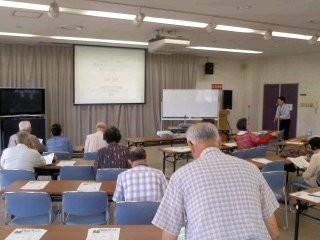 介護予防講座(9月24日、鎌倉福祉センター)