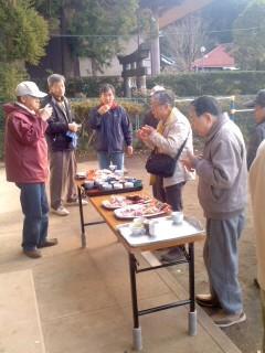 直会(12月30日、大船熊野神社)