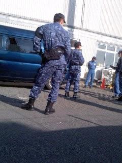 部隊実習(1月31日、予備自衛官招集訓練)