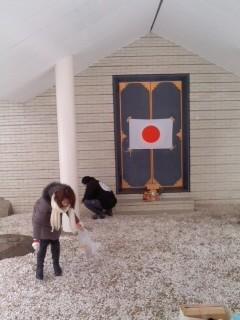 第21回清掃奉仕(2月8日、神奈川縣護國神社)