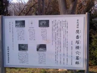 鷹番塚横穴墓群(3月22日、座間市)