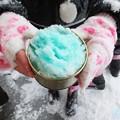 Photos: 雪遊び・・・シャーベット