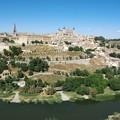 Photos: スペインの古都・トレドの景観(タホ川、北北東方向)