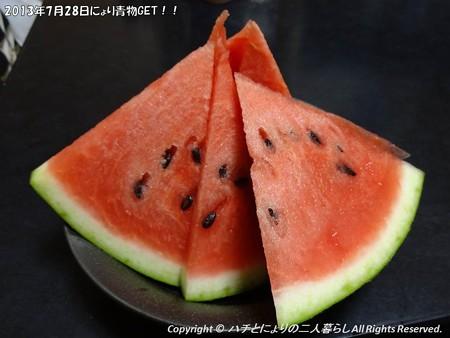 2013年7月28日にょり青物GET!! (6)