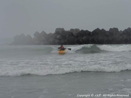 2014-03-01進水式&カヤックサーフィン (8)
