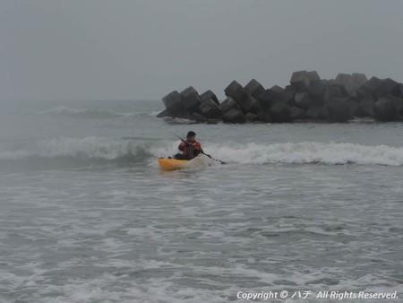 2014-03-01進水式&カヤックサーフィン (9)