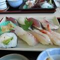 伊勢海老の巻き寿司