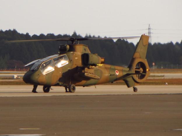 離陸準備中のOH-1