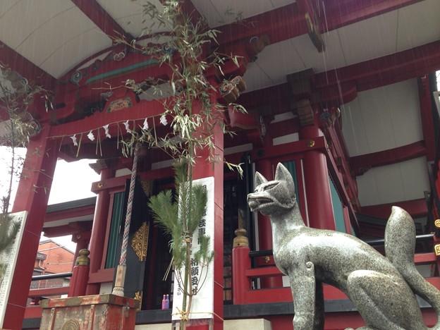 茶ノ木稲荷神社。