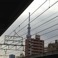 Photos: 東向島駅より。12:00頃。