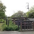 見沼通船堀東縁 二の関(さいたま市緑区)