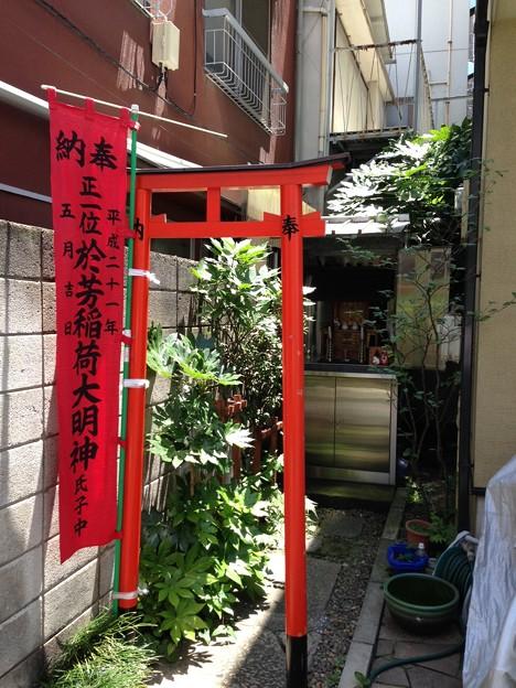 於芳稲荷神社(江東区永代)