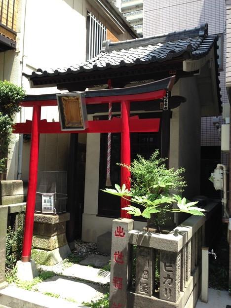 出世稲荷神社(江東区永代)