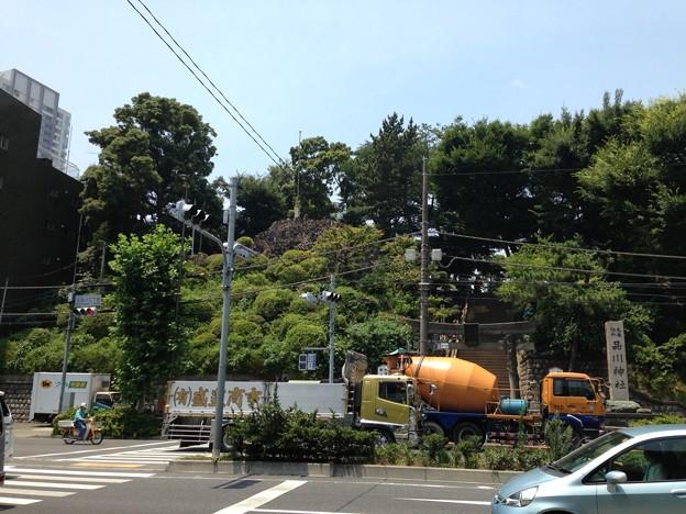 品川神社(北品川)富士塚