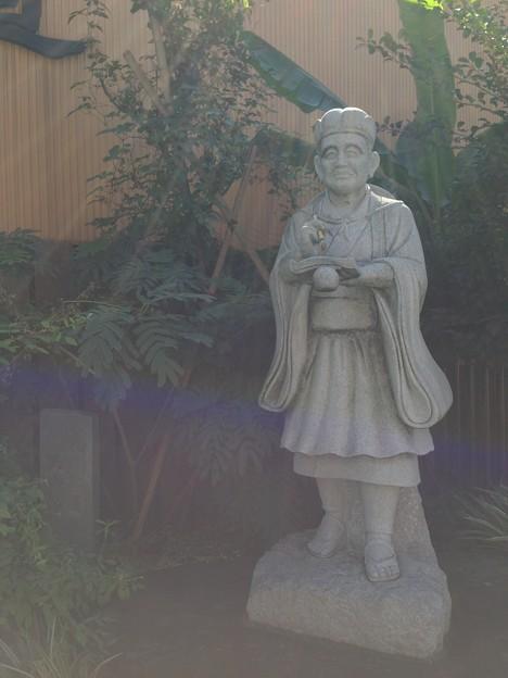 奥の細道 松尾芭蕉像