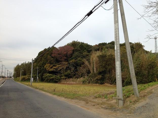 塚原城跡外郭(塚原氏居館跡。鹿嶋市)