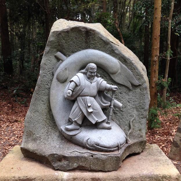 鹿島神宮 要石モニュメント