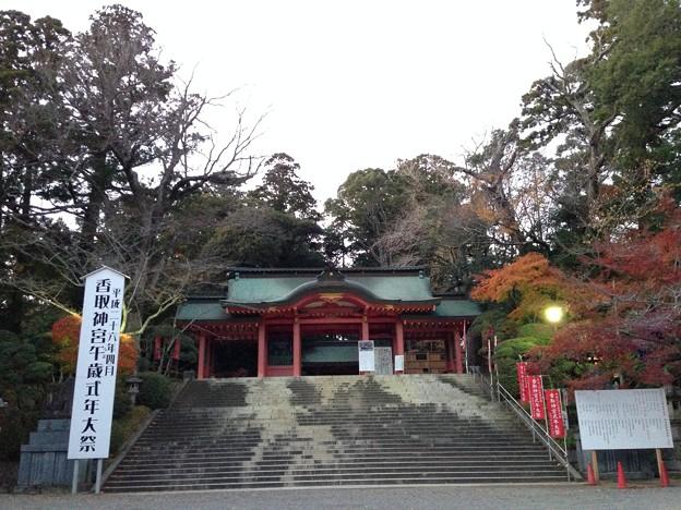 香取神宮 総門(香取市)