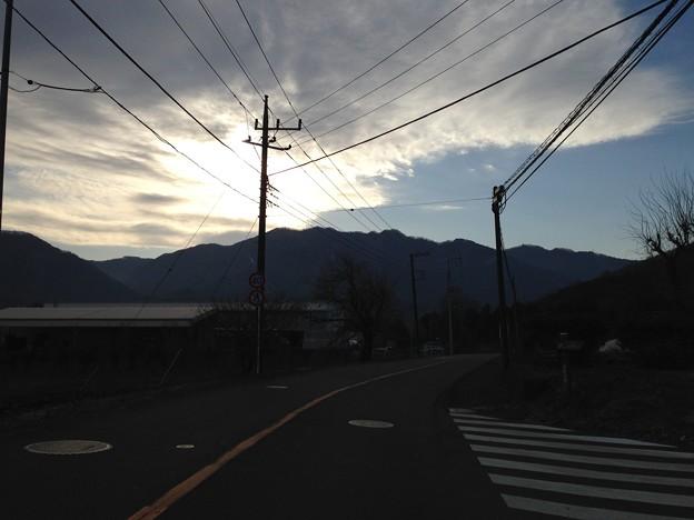 三増峠古戦場の空