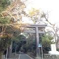 寒川神社 一の鳥居(神奈川県高座郡寒川町)