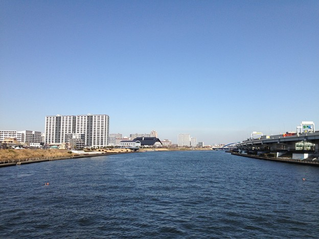 白髭橋より北(荒川区・墨田区)