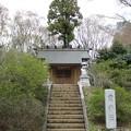 滝山城跡 霞神社(都立滝山公園。八王子市)
