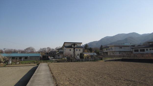 武田信義館跡(韮崎市)