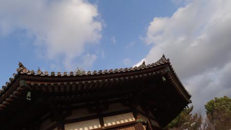 法隆寺-夢殿-